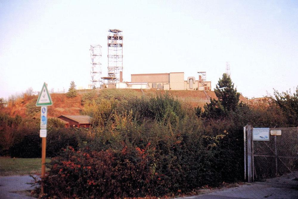 ehemalige US-Radarstation © Arbeitskreis Historisches Marienfelde