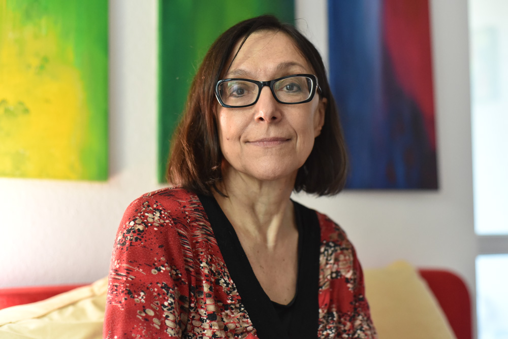 Sigrid Engelbrecht, Autorin in Marienfelde © Sünje Hansen