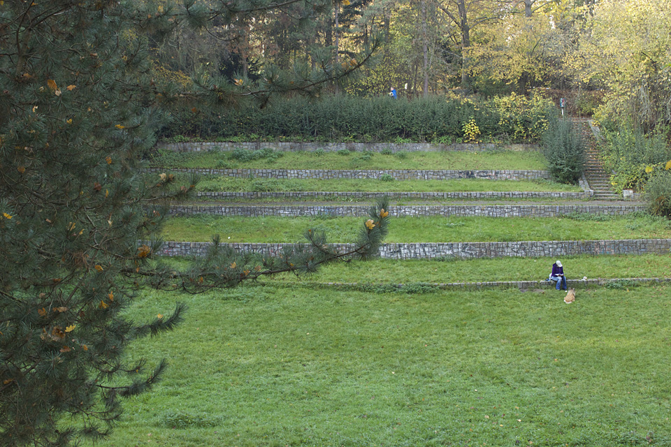 Das ehemalige Amphitheater auf der Marienhöhe © Josefine Meiners 2014