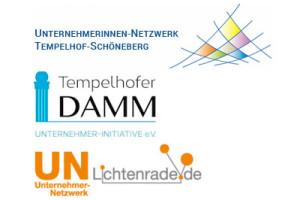 Ein Bezirk - drei Netzwerke: Unternehmerinnen-Netzwerk Tempelhof-Schöneberg, Unternehmer-Initiative Te- Damm und Unternehmer-Netzwerk Lichtenrade