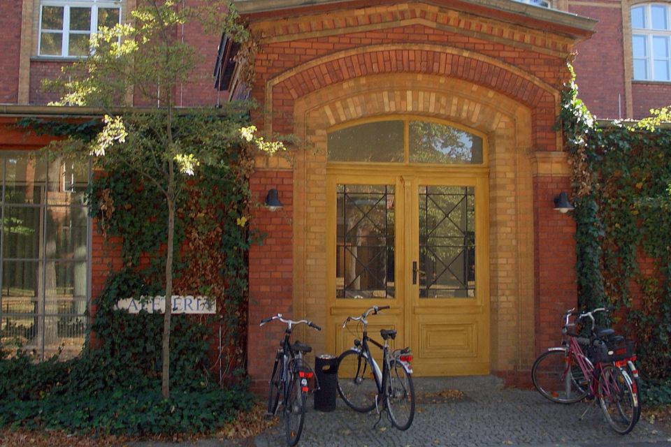 """Begonnen hat """"Die Kurve"""" in der Caféteria im Wenckebach-Krankenhaus in Tempelhof"""