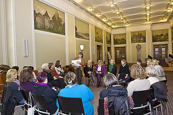 Monatstreffen des Unternehmerinnen-Netzwerks UTS im Rathaus Schöneberg © Inga Haar Businessfotografie
