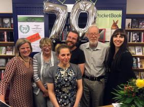 70 Jahre Buchhandlung Menger