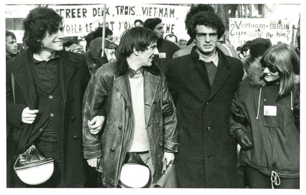 Demonstration des SDS anlässlich des Vietnam-Kongresses, 18.02.1968 © Polizeihistorische Sammlung, Berlin