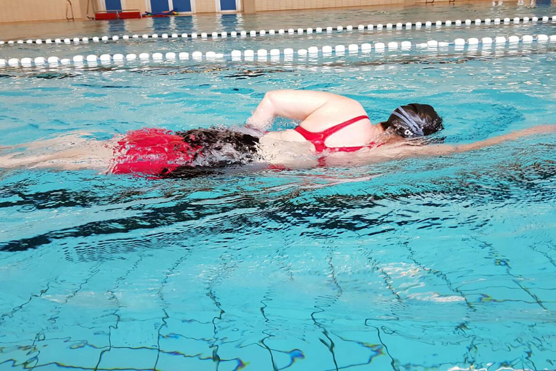 Schwimmen: Die Leichtigkeit der Freiheit ©privat