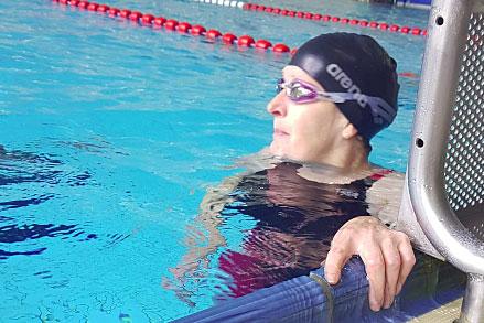 Bianca Tchinda: Schwimmerin, Europäerin, Mariendorferin ©privat