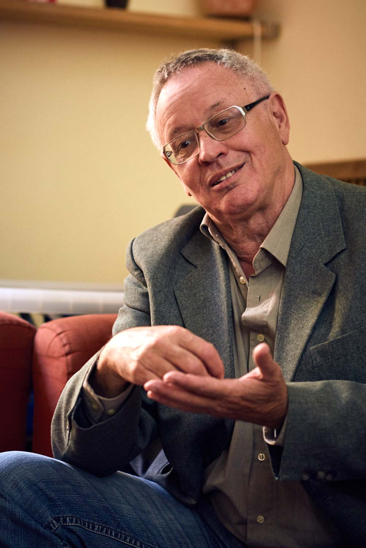 Karl-Heinz Kronauer: Gründer und Chefredakteur vom Tempelhofer Journal © Dieter Düvelmeyer